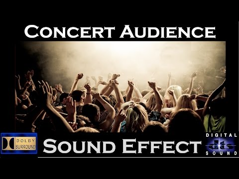 Sound Effects of Concert Audience| HI - RESOLUTION AUDIO