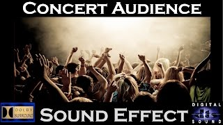 Sound Effects of Concert Audience  | HI - RESOLUTION AUDIO