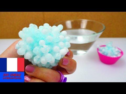 Perles aquatiques gelées  | Glace Orbeez | Que se passe-t-il?!