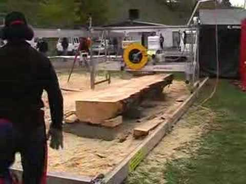 Sawmill Robot Makes Fence Posts Doovi
