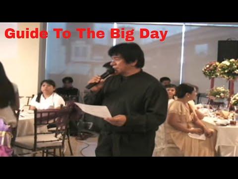 WEDDING RECEPTION PROGRAM PREVIEW