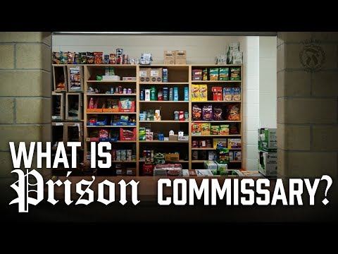 What is Prison Commissary? - Prison Talk 5.12