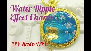 UV Resin DIY Water Ripple Effect Charm