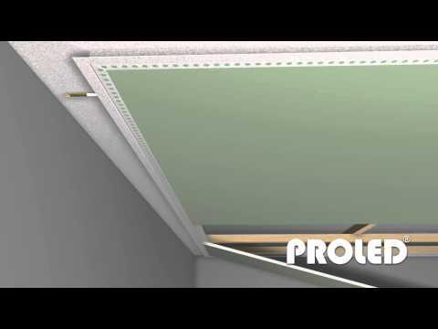 Come montare un profilo per strisce led a cartongesso   youtube
