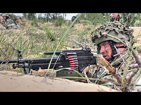Latvian Soldiers Engage Enemy – Hasty Defense STX