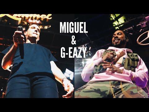 MIGUEL & G-EAZY @ JIMMY KIMMEL LIVE + CARPOOL KARAOKE