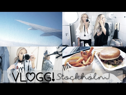 VLOGG! Stockholm, event, party, shopping !