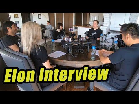 Third Row Tesla Interviews Elon | TTN Clips