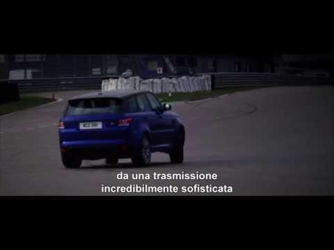 Range Rover Sport SVR testata al limite