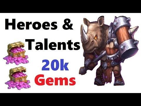20k Gems For Rolled For New Heroes Rockno Ronin Castle Clash Latvietiss