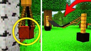 Minecraft: DEKORACJE, O KTÓRYCH NIE WIEDZIELIŚCIE