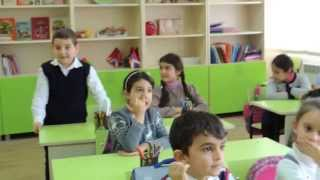 Урок армянского языка в Степанакертской школе №1.