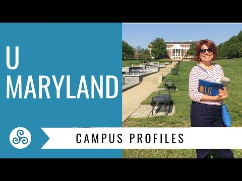 University of Maryland - overview by American College Strategies after a campus tour