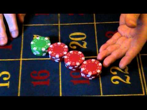 Poker chip tricks, cutting and knocking back