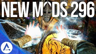 5 Brand New Console Mods 296 - Skyrim Special Edition (PS4/XB1/PC)
