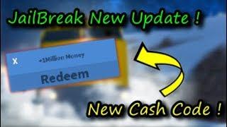 NEW MONEY CODE ! Reedem This Code Before Patch ! Jailbreak Winter Update / Roblox