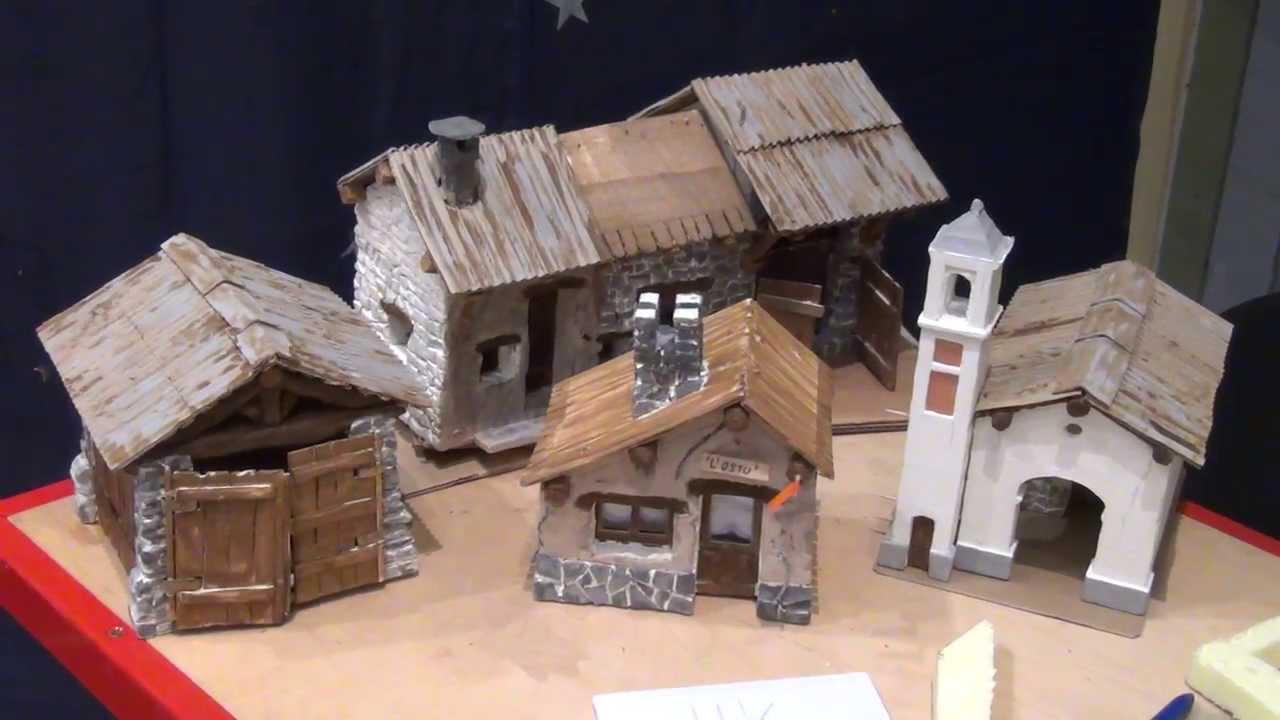 Casette in miniatura costruite a mano 29 12 2013 - Casette di cartone da costruire ...