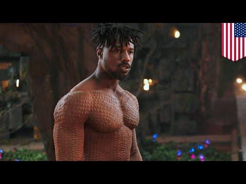 Black Panther: B. Jordan tanpa busana membuat remaja patahkan kawat giginya - TomoNews