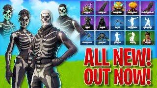 *ALL NEW* LEAKED SKINS/ITEMS IN FORTNITE! - Skins, Emotes, & MORE! (Fortnite Battle Royale)