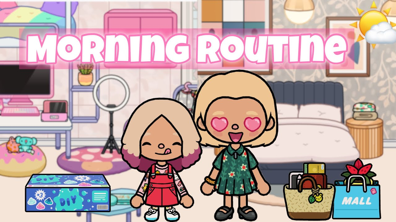 SELF-CARE DAY ROUTINE 🤩🧘🏽♀️ | Toca life world