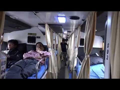Beautiful Multi Axle Scania Bus Of National Travels Called Mughal E Azam - Inside Out In Mumbai