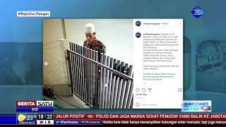 Perampok Beraksi Terekam CCTV Saat Pemilik Rumah Salat Id