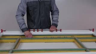 Видеоинструкция. Сборка окна с фурнитурой AXOR