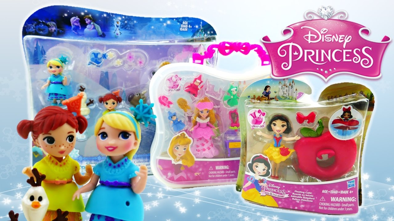 new disney princess little kingdom toys frozen toddlers snow white sleeping beauty youtube. Black Bedroom Furniture Sets. Home Design Ideas