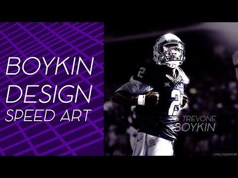 Trevone Boykin Design Speed Art