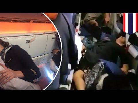 Turbulence in flight: Aeroflot flight hits clear air turbulence, 27 hurt - TomoNews