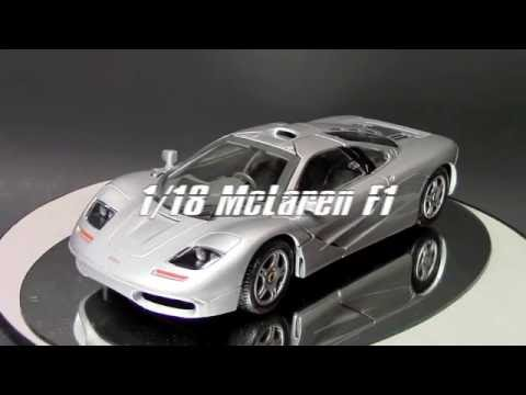 1/18 McLaren F1 by Maisto, Review