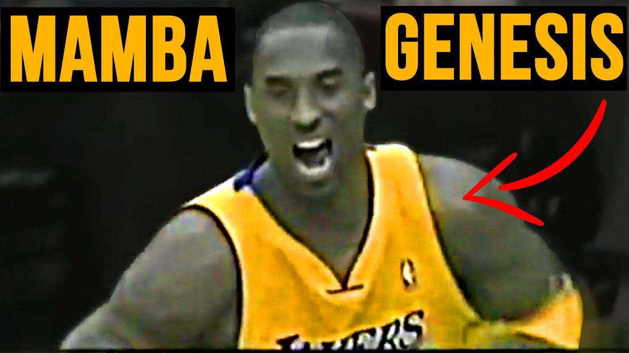 THE MOMENT When Kobe Bryant BECAME BLACK MAMBA