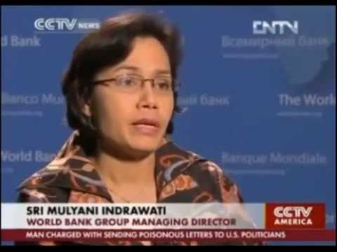 Exclusive Interview with Sri Mulyani - CCTV news and Businessweek
