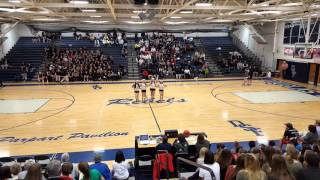 Freeman Dance Team Christmas Kick Dance 2015