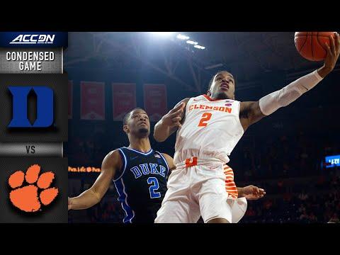 Duke vs. ClemsonCondensed Game | 2019-20 ACC Men's Basketball