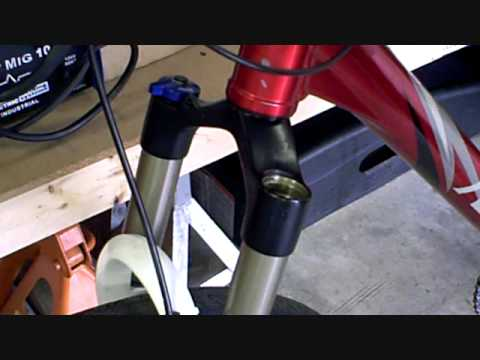 How To Change Tune The Fork Spring On A Mountain Bike Rock Shox