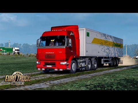 ETS2 1.30 The Moscow Region Kamaz 53605