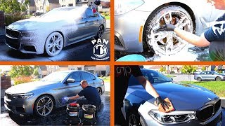 CLEANING MY CAR... IN REAL TIME !! [ASMR] 💦🚗💎