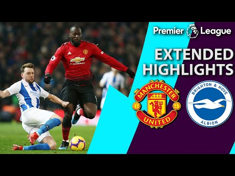 Manchester United v. Brighton | PREMIER LEAGUE EXTENDED HIGHLIGHTS | 1/19/19 | NBC Sports