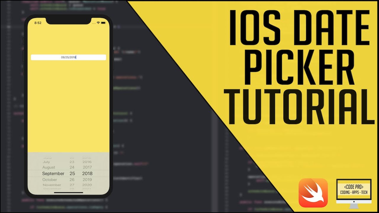 iOS Tutorial: Date Picker in a UITextField