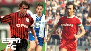 Was Bayern Munich's Franz Beckenbauer or AC Milan's Paolo Maldini the better player? | Extra Time
