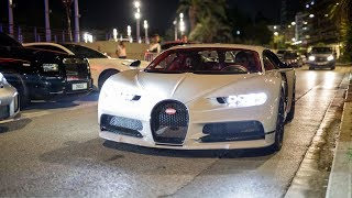Arab Supercar Invasion in Monaco and Cannes ! 4x Chiron, MSO P1, Huayra, 3x 918, Mansory 812,...