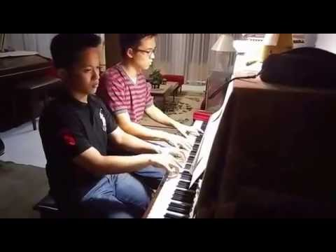 INDONESIA RAYA Instrumental Piano Duet