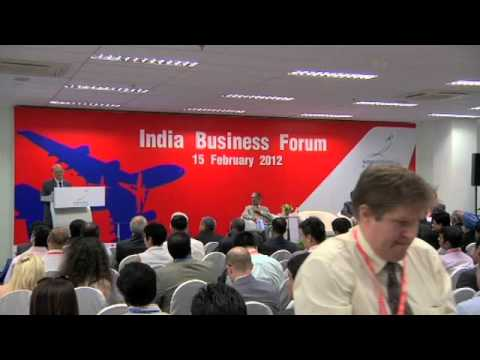 India Business Forum 2012 - Shri S.M. Kapoor