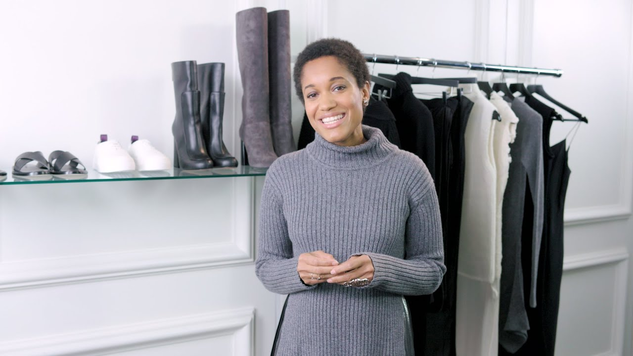 9143d7e30385c How To Do Sweater Dressing In Style - YouTube