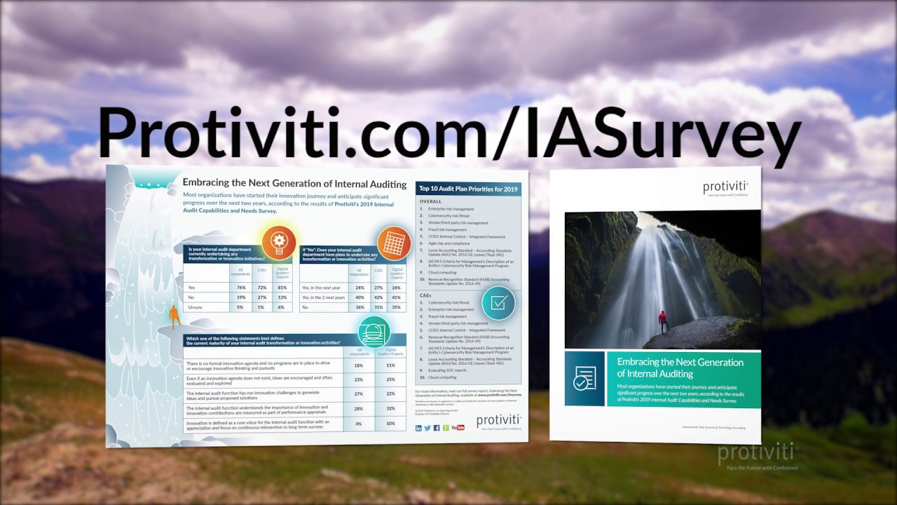 2019 Internal Audit Capabilities and Needs Survey