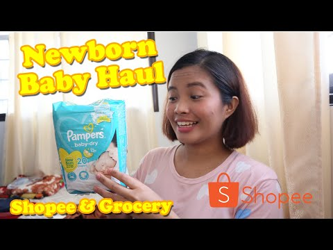 newborn-baby-haul-&-mommy-haul-|-shopee-haul-and-grocery-haul-|-philippines