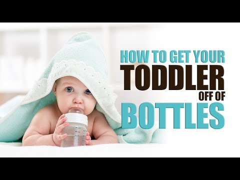 When should toddler stop having milk before bed