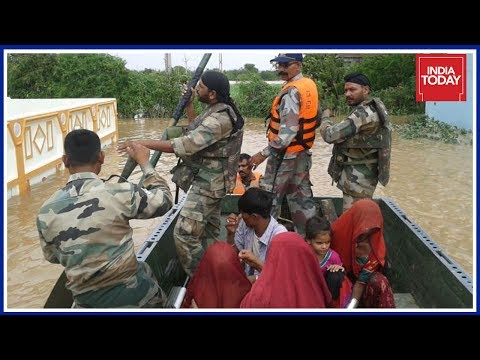 Indian Army deploys rescue columns in flood-hit areas of Gujarat