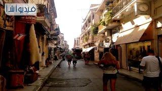 بالفيديو: منطقه بلاكا التاريخيه بمدينه اثينا التي تتمير بشوارعها الضيقه ومحالها التجاريه